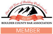 Boulder County Bar Association Member